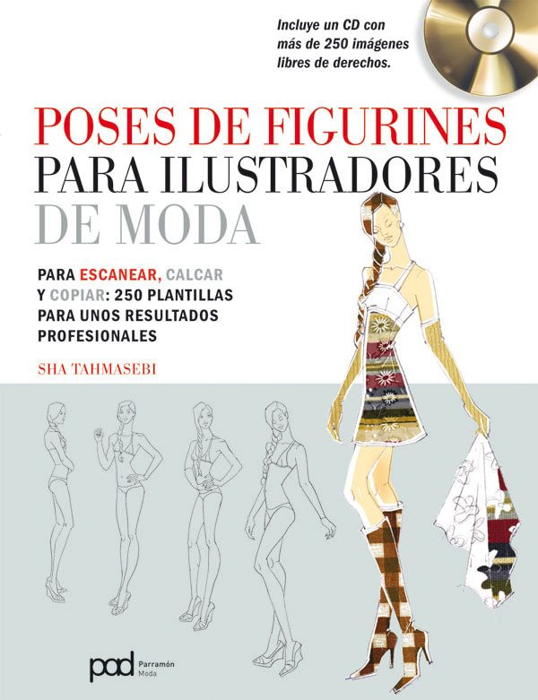 Poses de figurines para ilustradores de moda