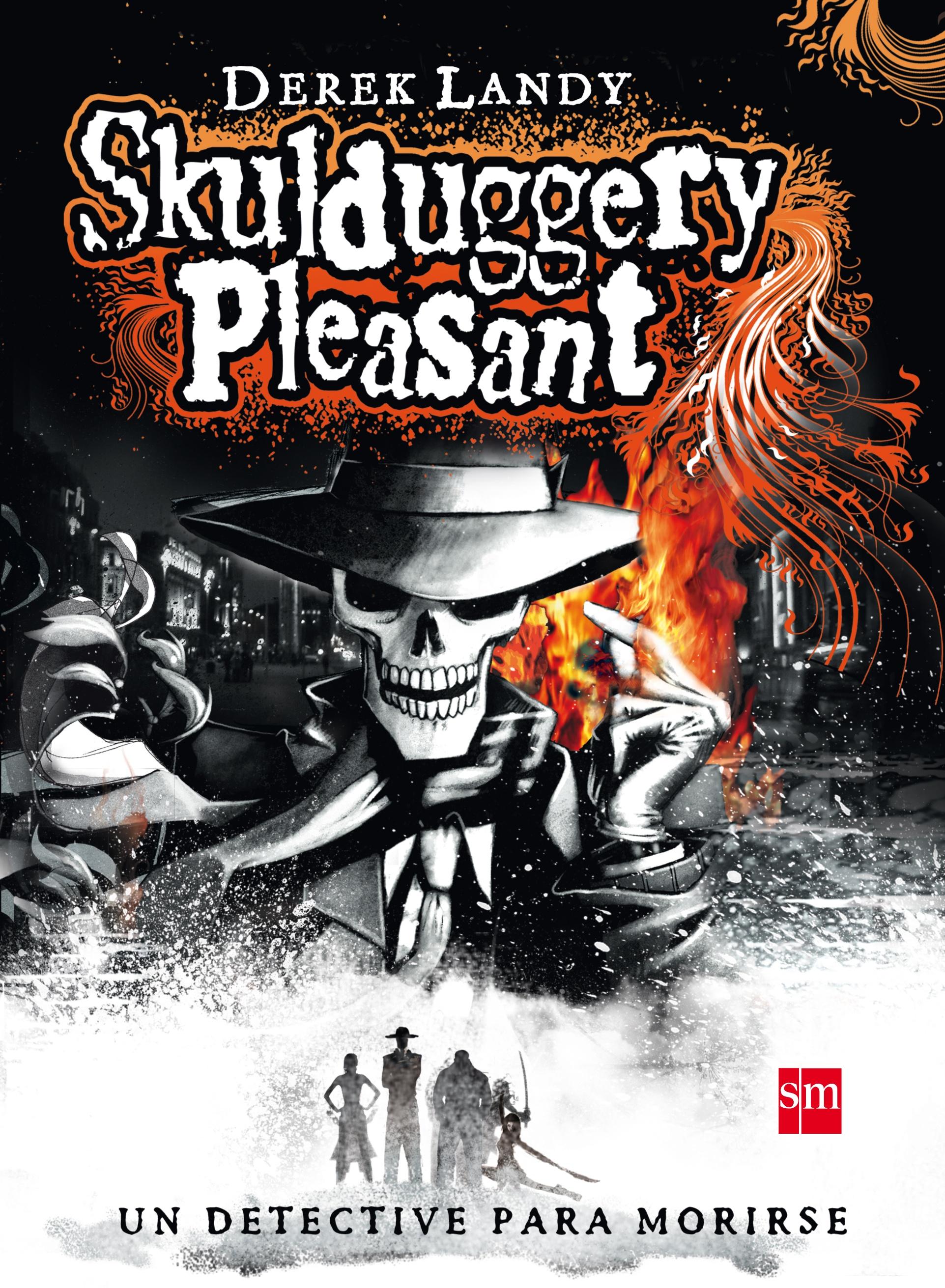 Detective Esqueleto [Skulduggery Pleasant]