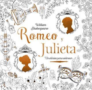 Clásicos para colorear. Romeo y Julieta
