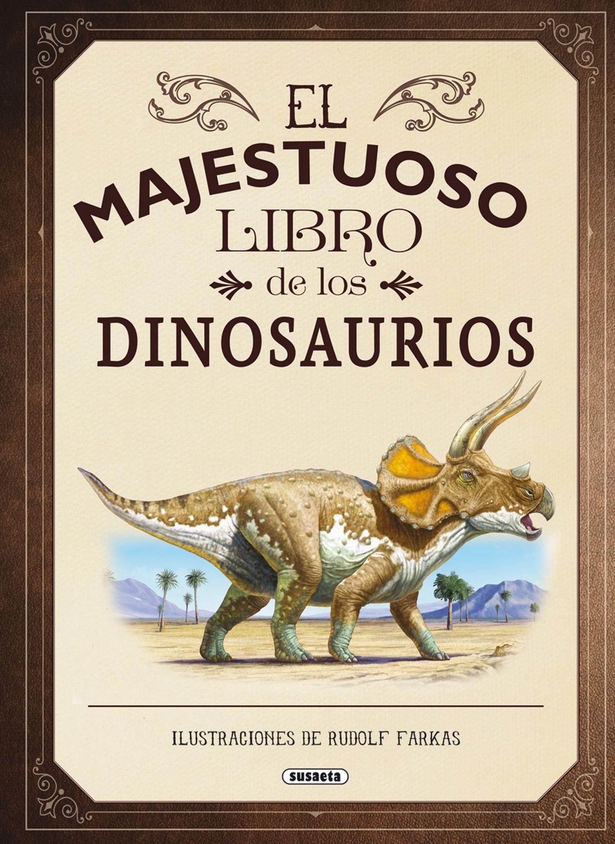 El majestuoso libro de los dinosaurios