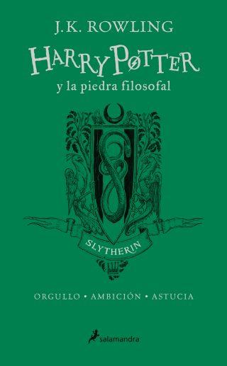 Harry Potter y la piedra filosofal (edición Slytherin del 20º aniversario) (Harry Potter 1)