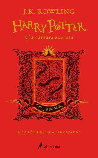 Harry Potter y la cámara secreta (edición Gryffindor del 20º aniversario) (Harry Potter 2)