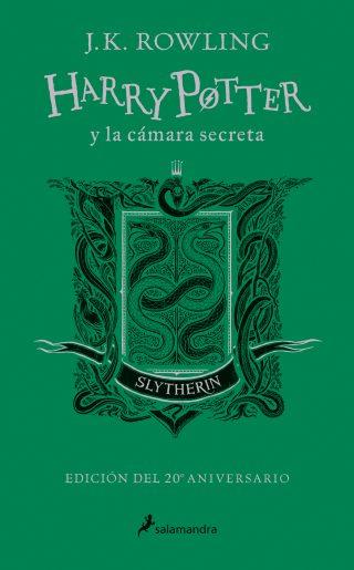Harry Potter y la cámara secreta (edición Slytherin del 20º aniversario) (Harry Potter 2)