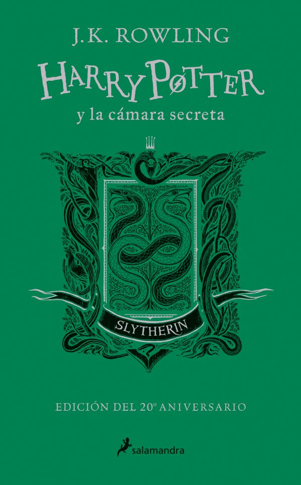 Harry Potter y la cámara secreta (edición Slytherin del 20º aniversario) (Harry Potter 2)