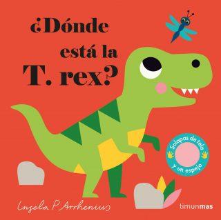 ¿Dónde está la T. rex?