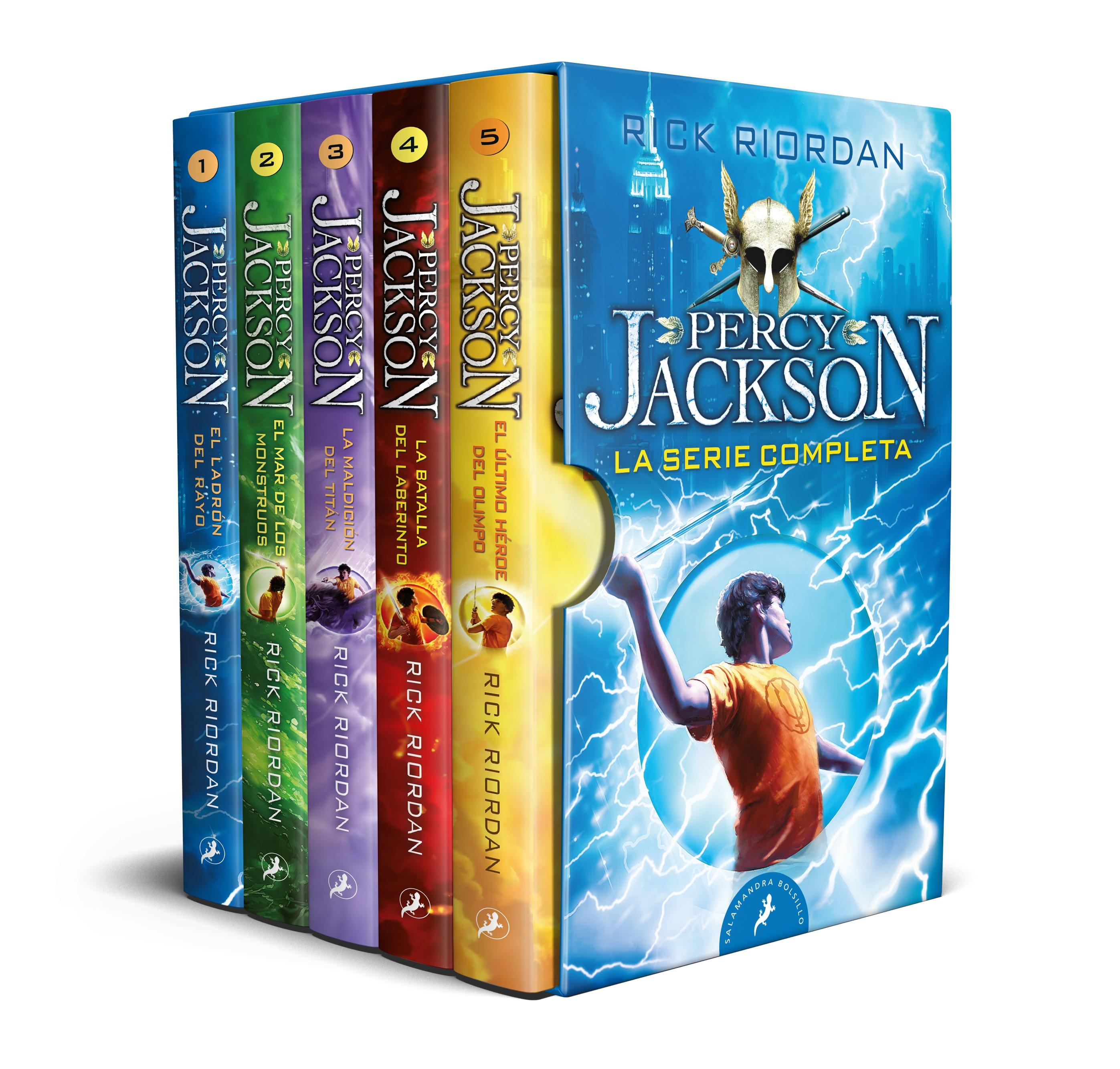 Percy Jackson y los dioses del Olimpo - La serie completa
